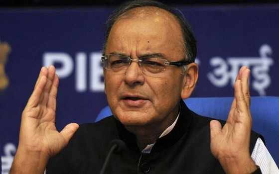 Finance Minister Arun Jaitley (Vipin Kumar/Hindustan Times via Getty Images)