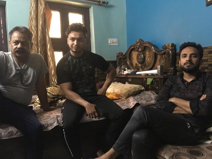 Riyaz Ahmed (right)