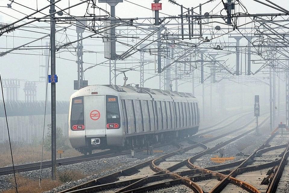Image result for delhi metro pollution