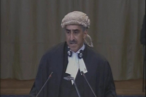 There Is Lack Of Evidence Pakistans Icj Lawyer Says I