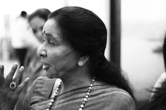 I love to rewind to songs which are precious to me: Asha Bhosle. (Photo: Vatsal Shah)