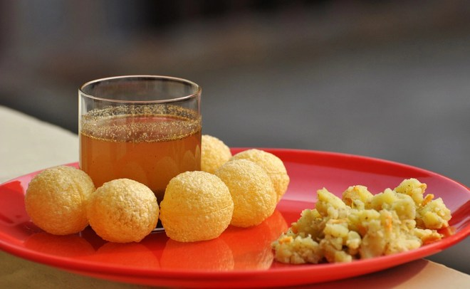 "The pani puri with black grape juice was turned into a trend thanks to Sanjeev Kapoor's genius. (Photo Courtesy: <a href=""https://pixabay.com/en/photos/nutrients/"" data-recalc-dims="