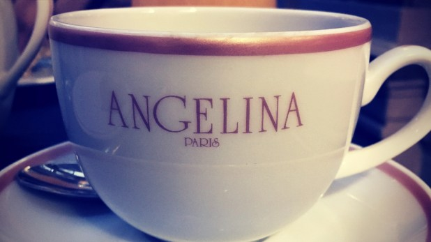 Angelina's famous hot chocolate.