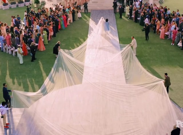 Image result for priyanka chopra wedding gown ralph lauren