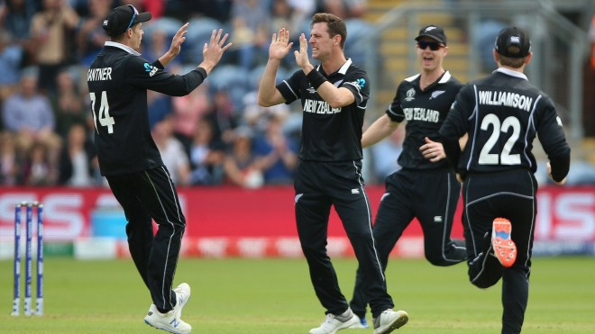 Matt Henry was the best bowler for the Kiwis finishing with figures of 3/29