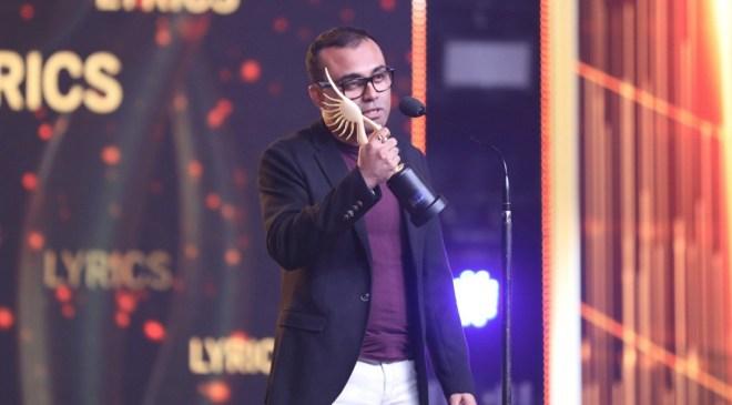 Amitabh Bhattacharya won for the lyrics of <i>Dhadak.</i>
