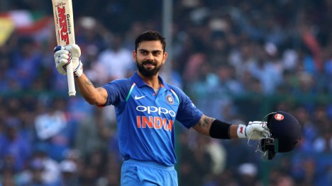 Image result for Virat Kohli Emerged As International Cricketer Of Year At CEAT Cricket Ratings