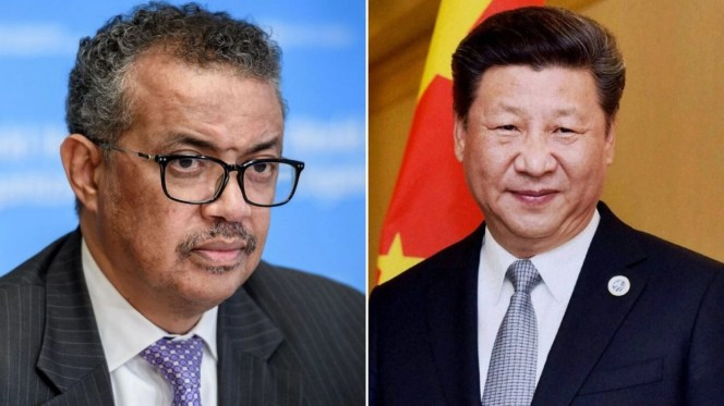 WHO Denies COVID-19 'Cover-Up Call' Between Xi Jinping & Dr Tedros