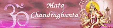 Image result for Maa Chandraghanta
