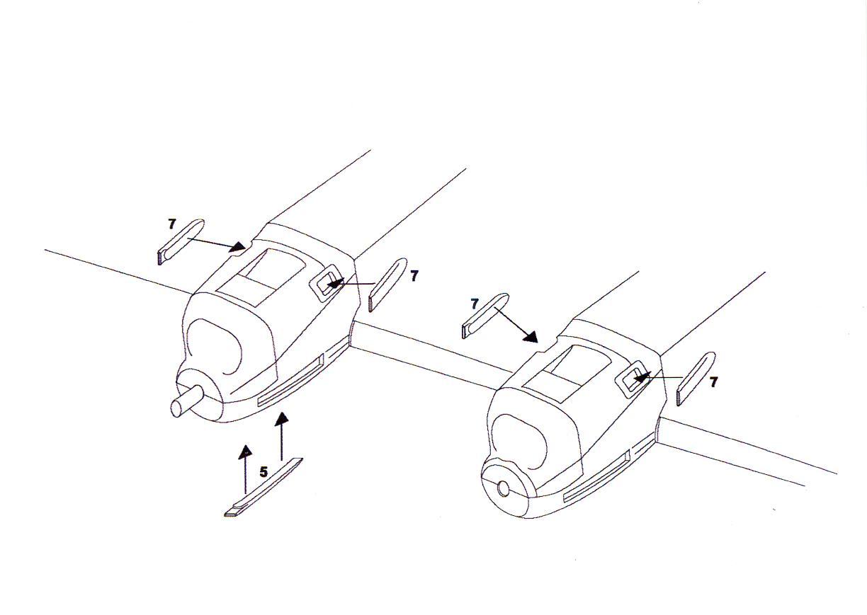 Aml Models 1 72 Halifax Mk V Morris Radiators Amp Propellers