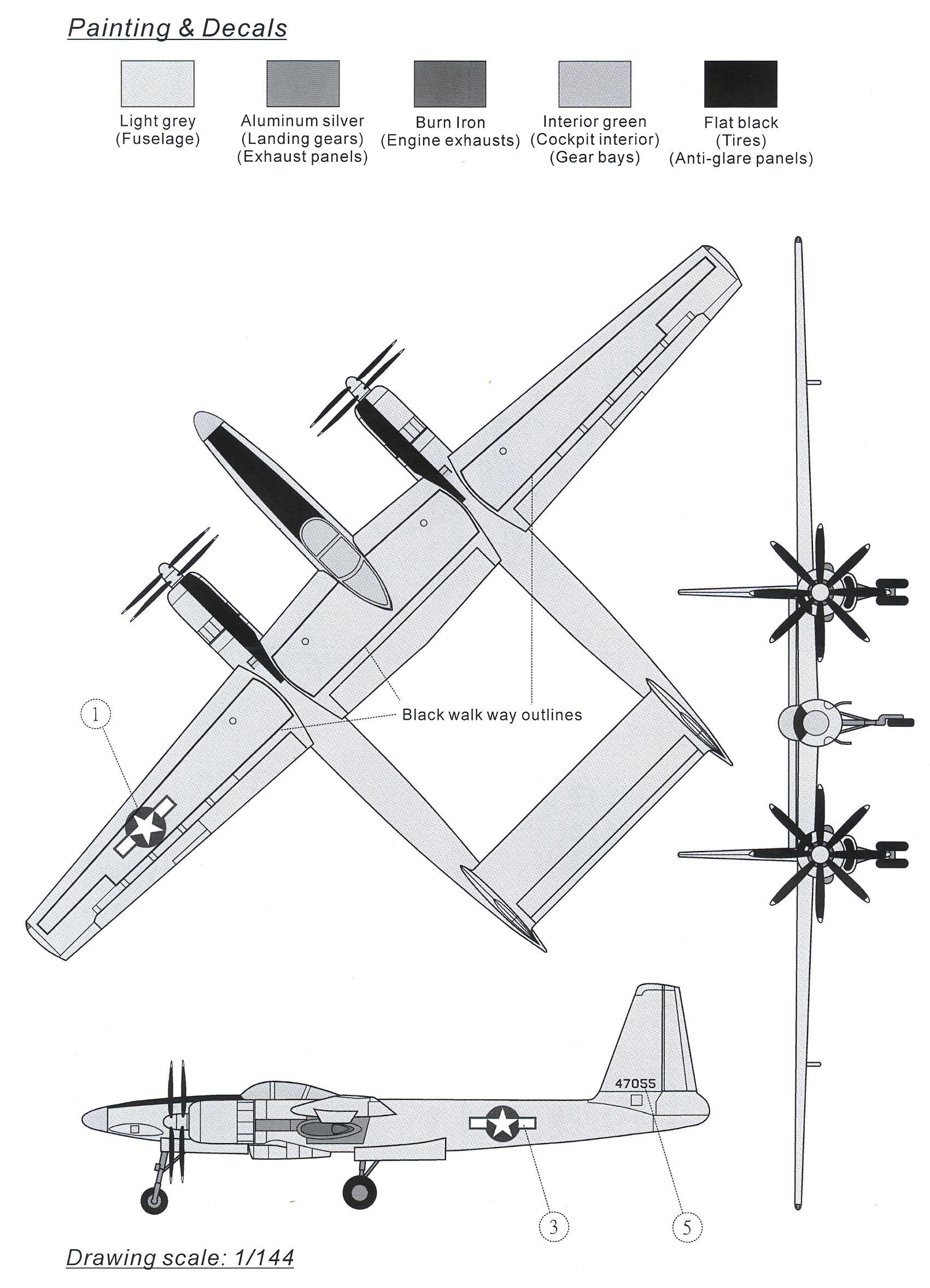 Anigrand Models 1 72 Hughes Xf 11 Howard Hughes Wwii