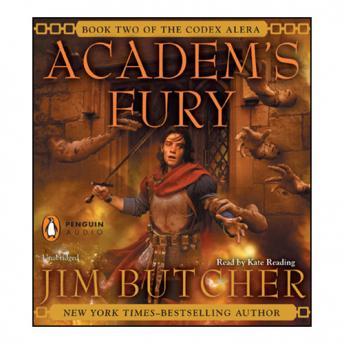 Academ's Fury audio book by Jim Butcher