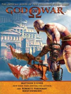 God of War audio book by Matthew Woodring Stover and Robert E. Vardeman