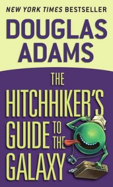 The Hitchhiker's Guide to the Galaxy audio book by Douglas Adams