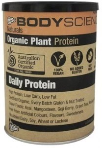 BSc Naturals Organic Vegan Plant Protein Vanilla