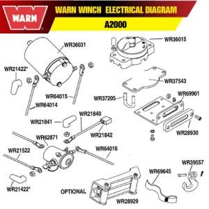 WARN WINCH MOTOR FOR A2000 A2500 25 CI | eBay