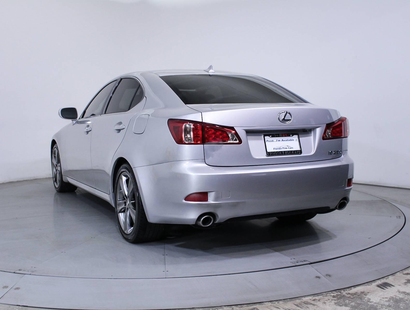 Used 2013 LEXUS IS 250 Sedan for sale in MIAMI FL