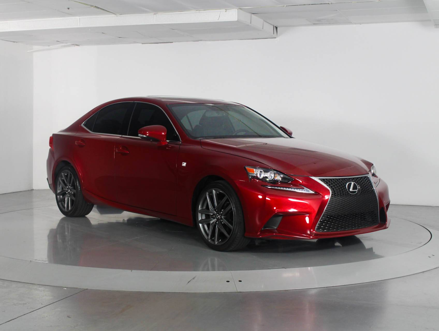 Used 2015 LEXUS IS 250 F SPORT Sedan for sale in WEST PALM FL