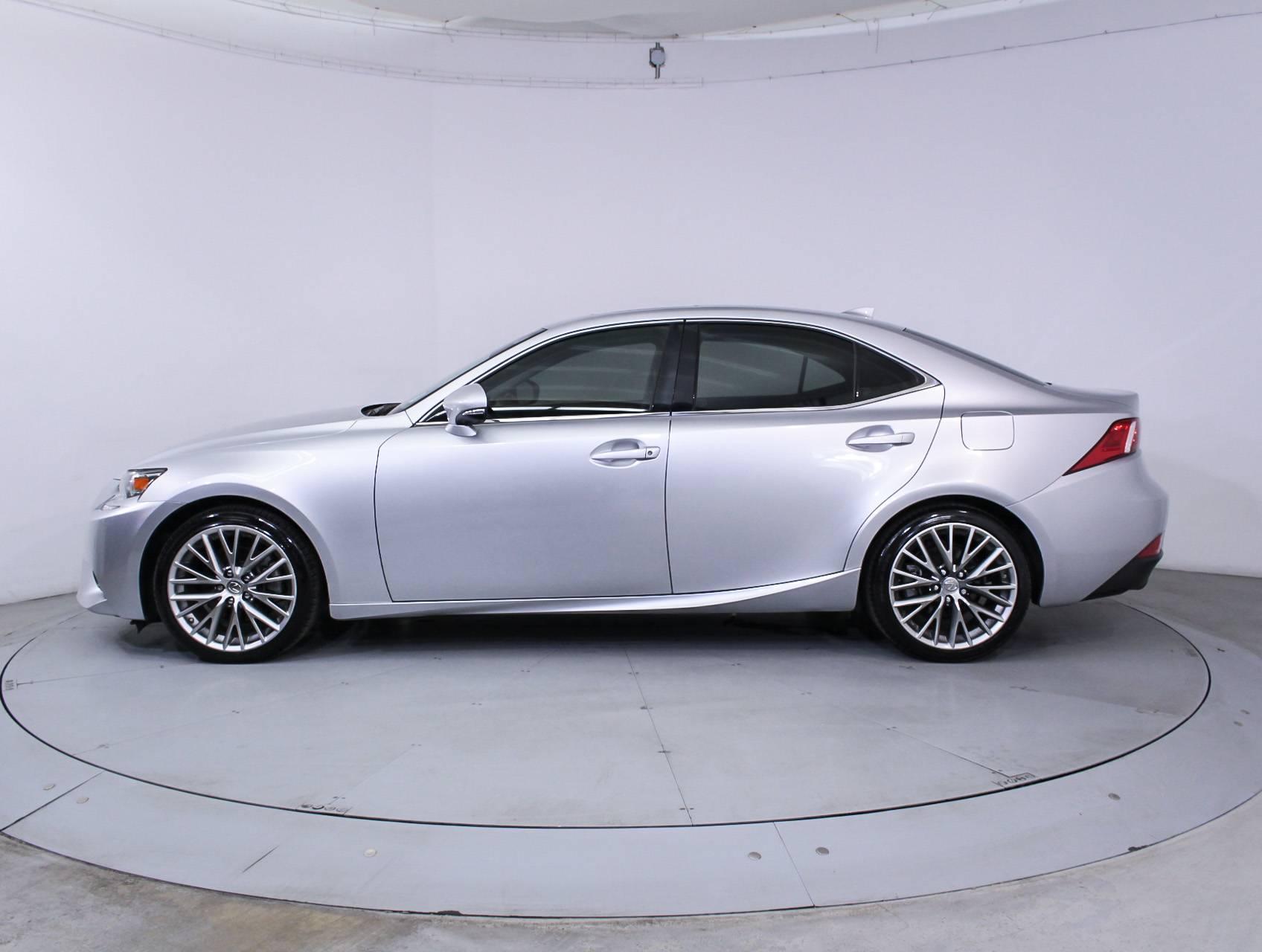Used 2014 LEXUS IS 250 Sedan for sale in HOLLYWOOD FL