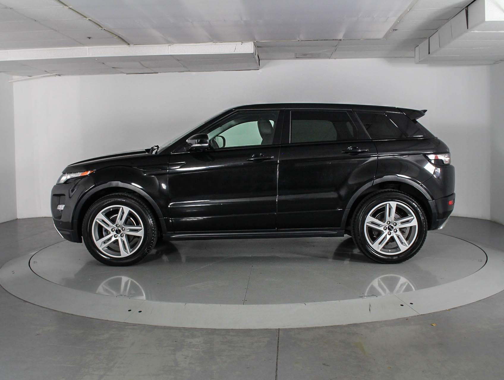 Used 2012 LAND ROVER RANGE ROVER EVOQUE DYNAMIC PREMIUM SUV for