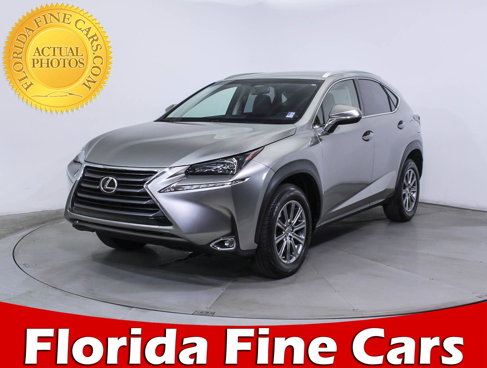 Used 2015 LEXUS NX 200T SUV for sale in HOLLYWOOD FL