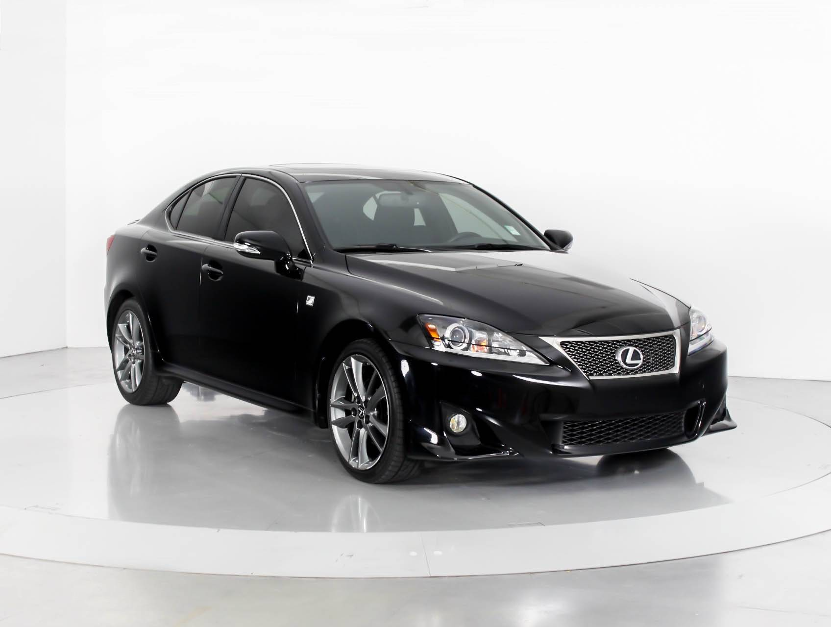 Used 2012 LEXUS IS 250 F SPORT Sedan for sale in WEST PALM FL