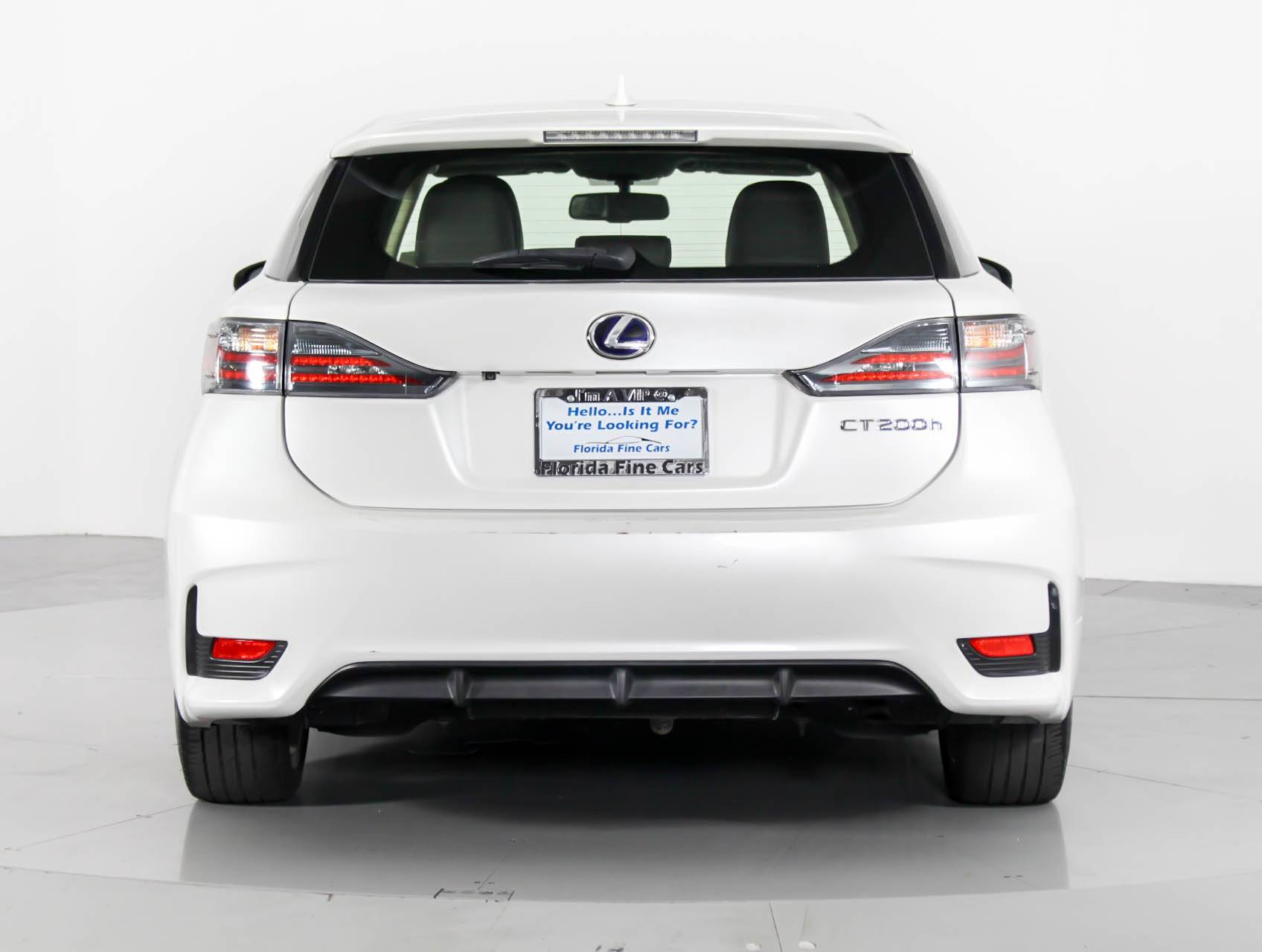 Used 2015 LEXUS CT 200H Hatchback for sale in HOLLYWOOD FL