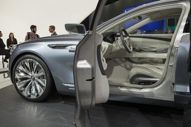 Buick Avenir Concept Detroit Auto Show Autotrader
