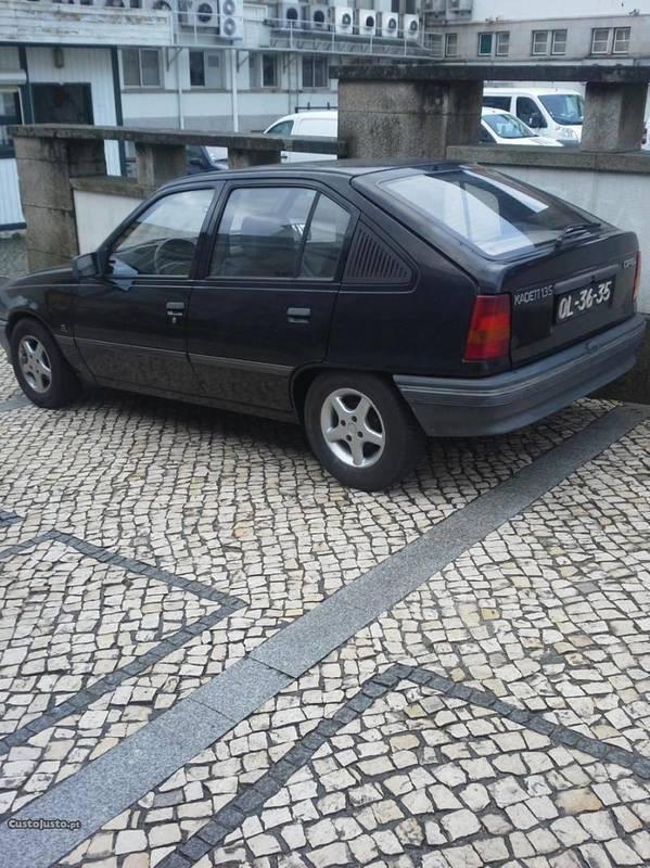 Resultado de imagem para Opel Kadette preto de 1988