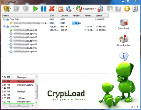 cryptload 480x376 Download files from Rapidshare, Megaupload, Hotfile, netload and more easily