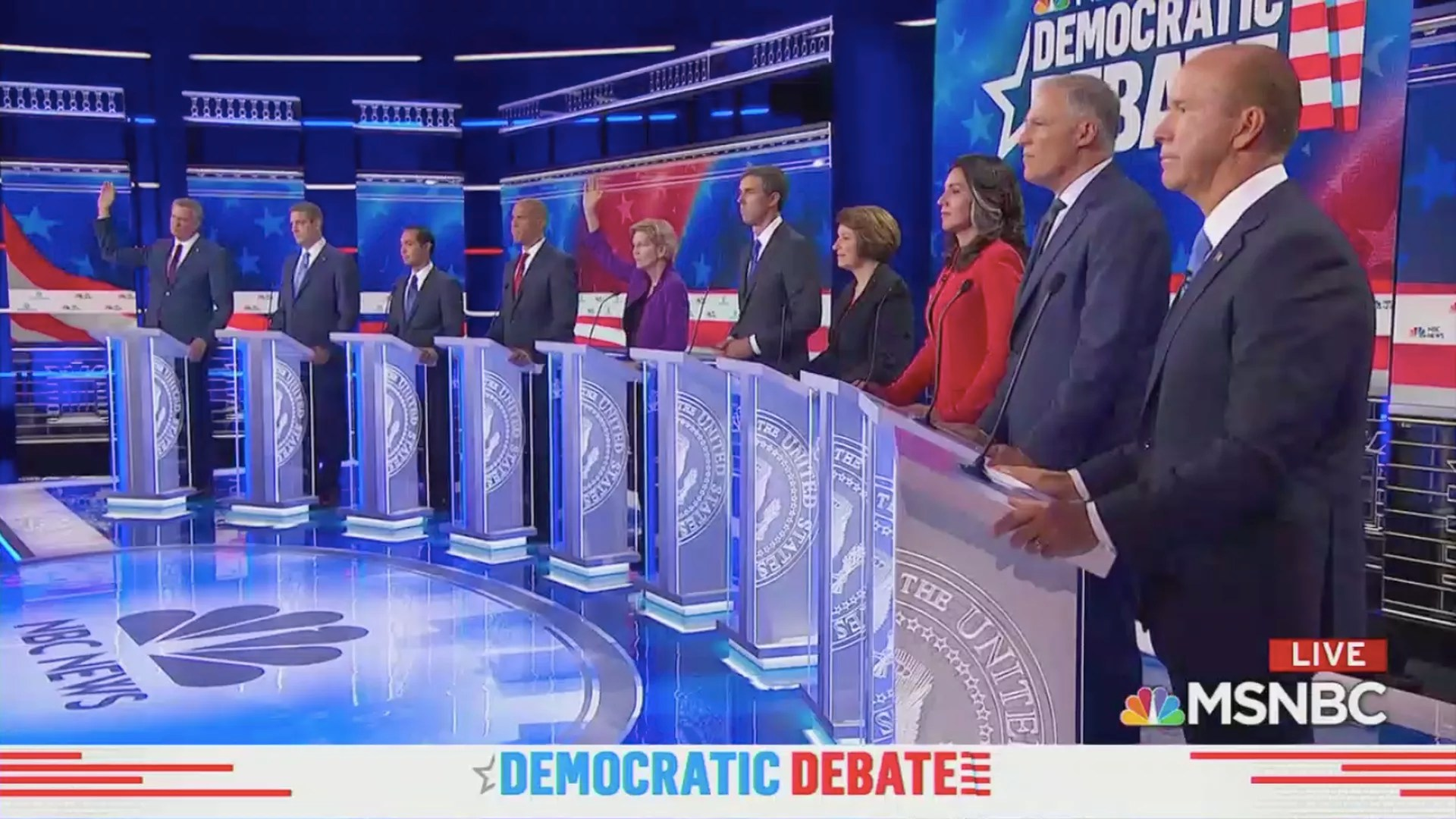 Highlights From 1st Democratic Presidential Primary Debate