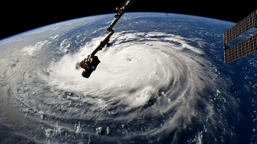 Go deeper  Hurricane Florence is a storm threat unlike any other   Axios Astronaut Ricky Arnold  Hurricane Florence gains strength in the Atlantic  Ocean as it moves west