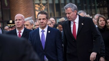 NY Governor Andrew Cuomo. Photo by Drew Angerer/Getty Images