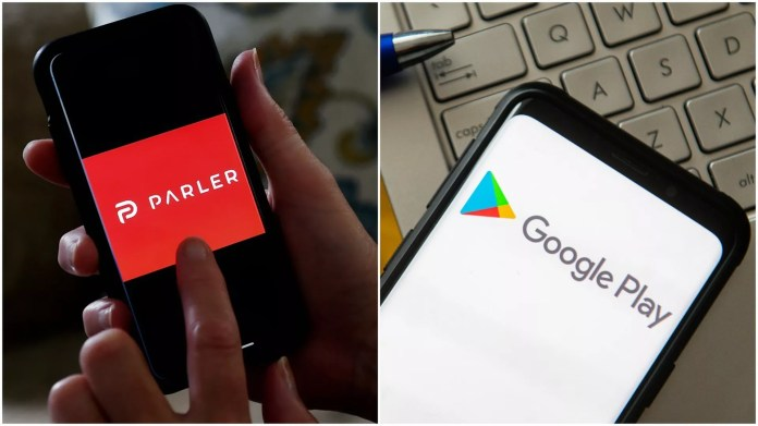 Google Bans Parler From App Store After Deadly U S Capitol Violence Axios