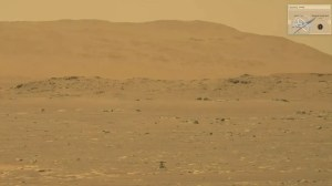NASA's Martian helicopter takes off as the first aircraft to fly on another planet