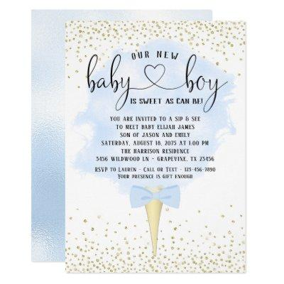 Candy Baby Shower Invitations