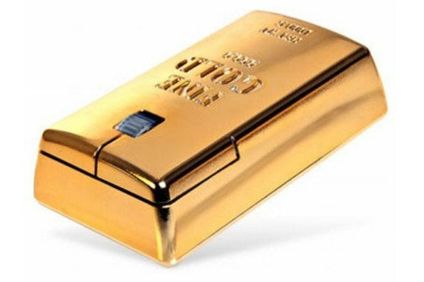 The Gold Bullion Wireless Mouse-Amazing Computer Mice