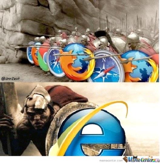 Browser Wars 12 Funniest Internet Explorer Memes Ever