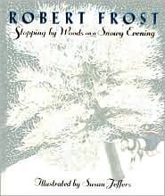 Stopping by the Woods on a Snowy Evening by Robert Frost: Book Cover