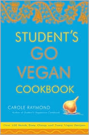 Student's Go Vegan Cookbook by Carole Raymond: Book Cover