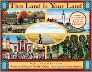 This Land Is Your Land (Book and CD) by Woody Guthrie: Book Cover