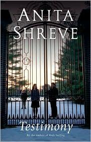 Testimony by Anita Shreve: Book Cover