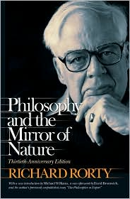 Philosophy & the Mirror of Nature by David Bromwich: Book Cover