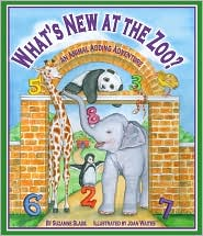 What's New at the Zoo? An Animal Adding Adventure by Suzanne Slade: Book Cover