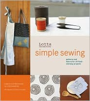 Lotta Jansdotter Simple Sewing by Lotta Jansdotter: Book Cover