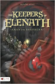 The Keepers of Elenath by Amanda Bradburn: Book Cover