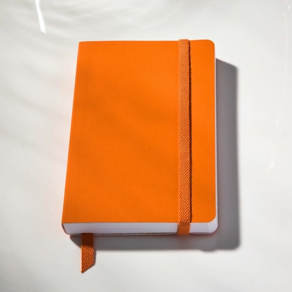 Ecosystem 100% Recycled Flexi Ruled Clementine Journal