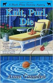 Knit, Purl, Die by Anne Canadeo: Book Cover