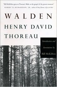 Walden by Henry David Thoreau: Book Cover