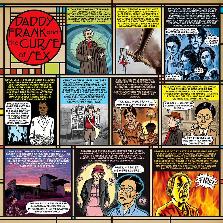Recensioni a fumetti. Ward Sutton on The Women, da Barnes&Noble Review